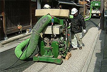 防滑工事ショットブラスト施工